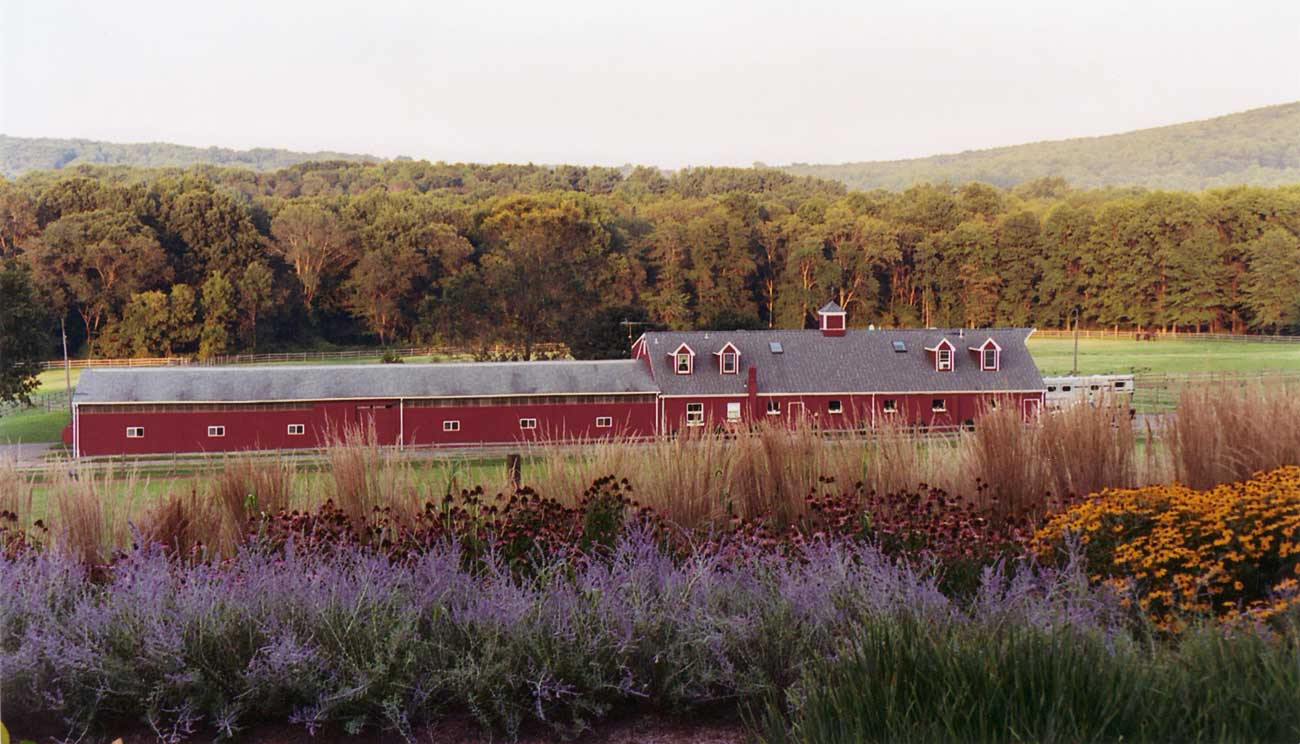 Rural Retreat landscape architecture